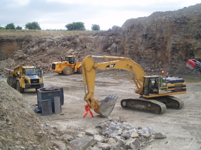Quarry Machinery training - QSCS training course