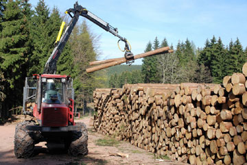 Timber Forwarder Training Course Ireland