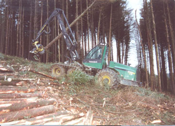 KTC Safety Providing City & Guilds Timber Harvester Training Courses in Ireland