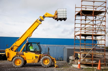 CSCS Telescopic Handler Forklift Training in Ireland