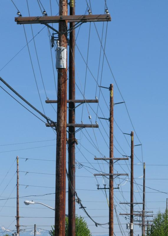 Electrical Power Poles : Felling of utility poles training cs ktc safety