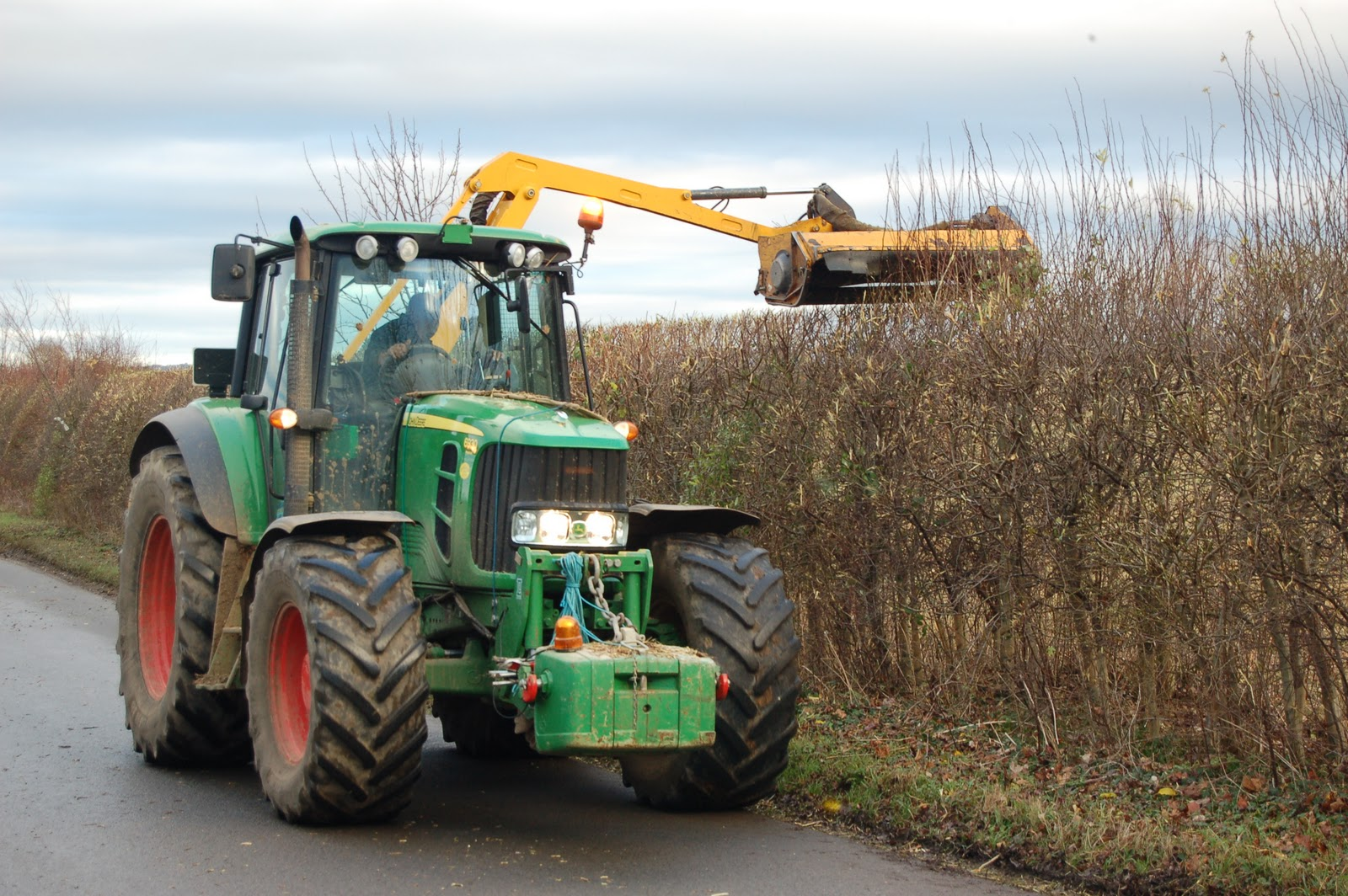 Tractor Mounted Hedge Trimming Training - KTC Safety