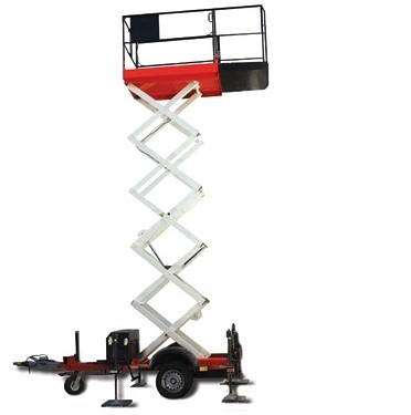 KTC Safety Providing Trailer Scissors Lift MEWP Training Courses throughout Ireland